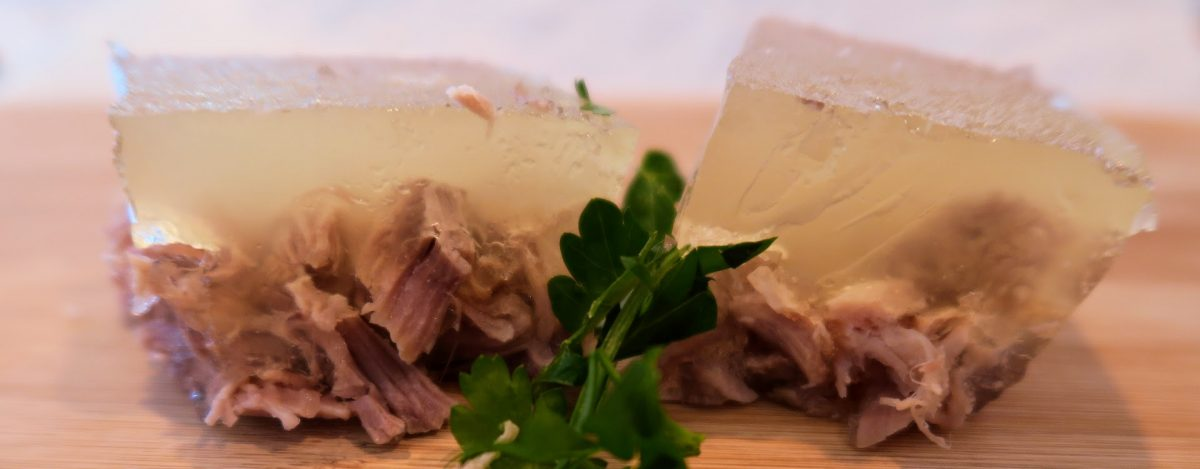Instant Pot Studenetz – Head cheese – Jellied Pork Meat