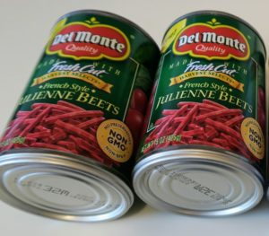 Del Monte canned Julienne Beets