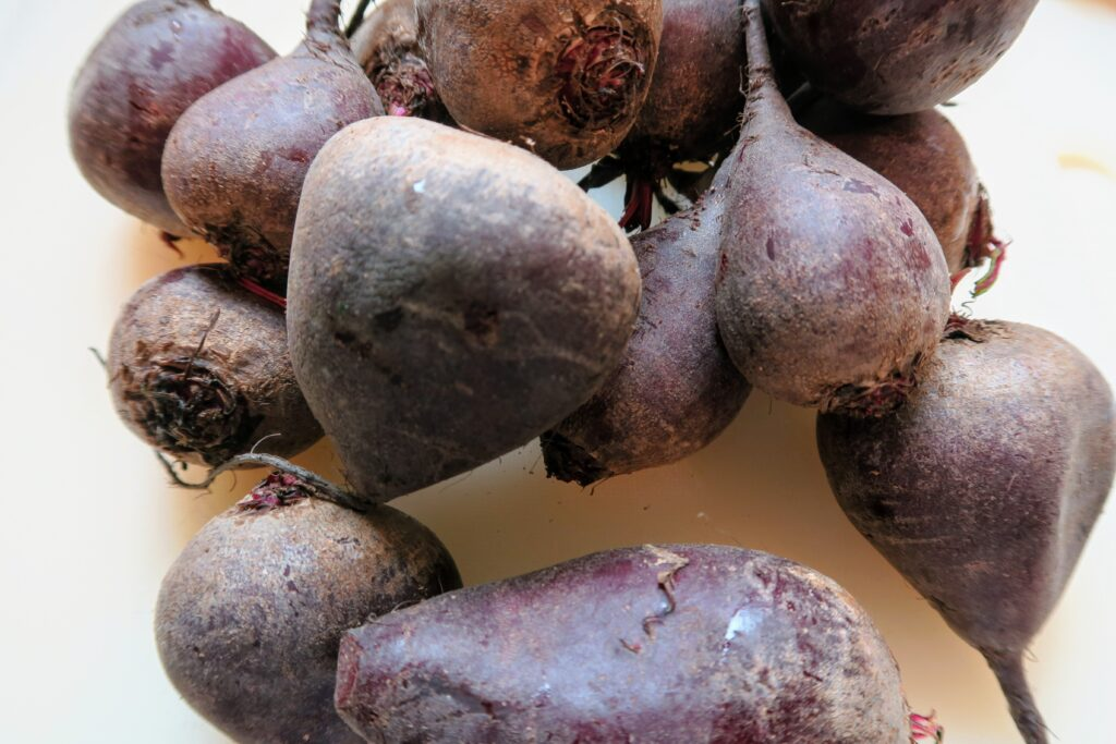 Small raw beets