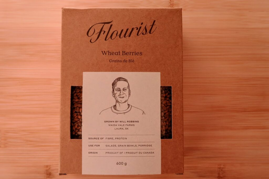 Flourist wheat berries